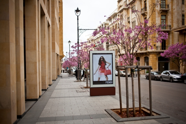 Downtown Beirut stays mostly empty despite development efforts